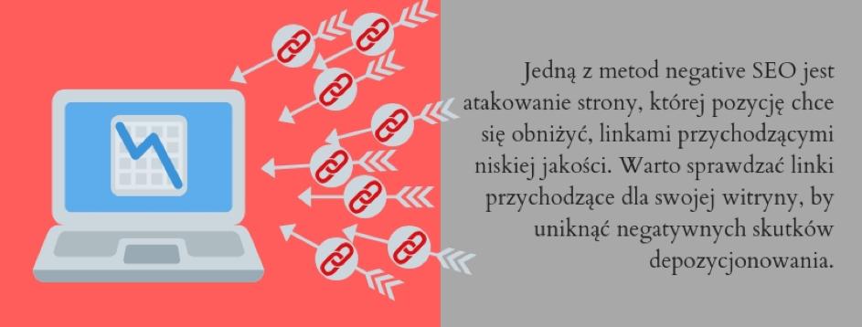 Działania określane mianem negative SEO są niedozwolone przezwyszukiwarki internetowe