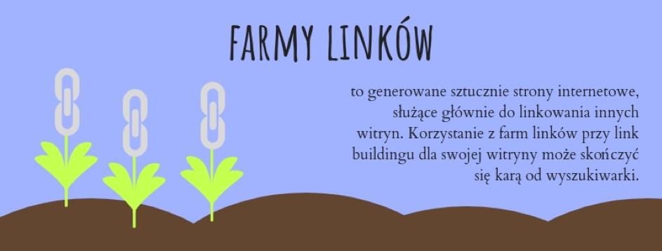 Link farm, czylifarma linków, to tworzenie grupy stron internetowych