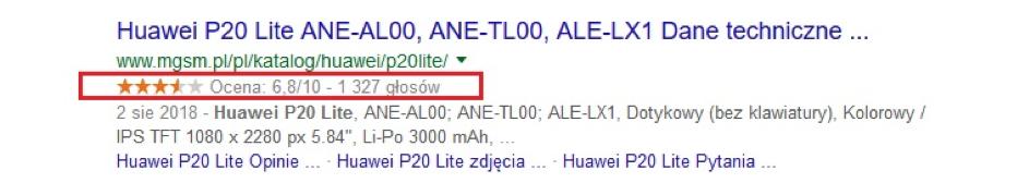 Marker danych należy donarzędzi udostępnionych wGoogle Search Console