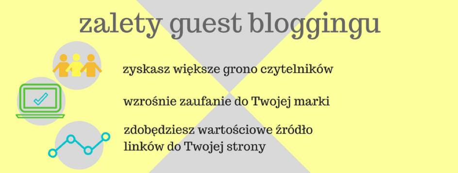 zalety guest blogingu